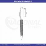 CANETA DE METAL C/ DETALHE DIFERENCIADO NO CORPO CM1027C