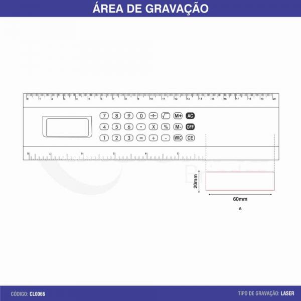 RÉGUA CALCULADORA CL0066