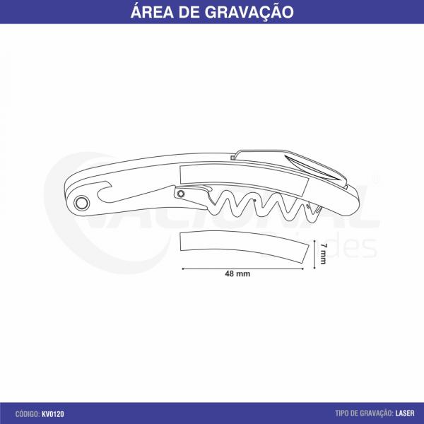 SACA ROLHAS DE METAL KV0120