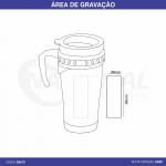CANECA INOX COM TAMPA CA0123