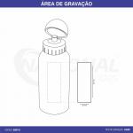 SQUEEZE DE ALUMÍNIO 500ML GA0116