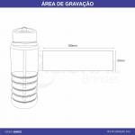 SQUEEZE DE PLÁSTICO COM BICO 600ML GA94622