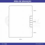 CADERNO C/ POST IT CAD100